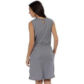 Regatta Haydee Dress Women Navy Stripe